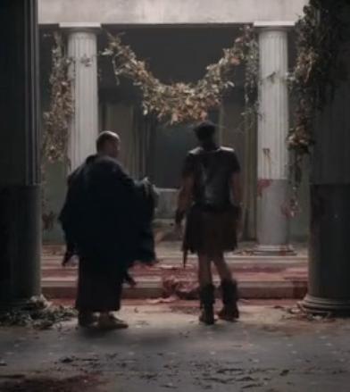 Gaius Claudius Glaber est mort. - Spartacus : War of the Damned